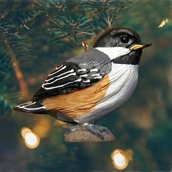 Chickadee Baby Ornament