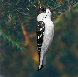 Downy Woodpecker Ornament