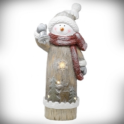 LED Winter Snowman Door Greeter