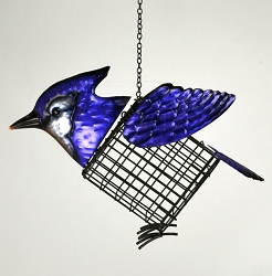 Blue Jay Suet Cage Feeder