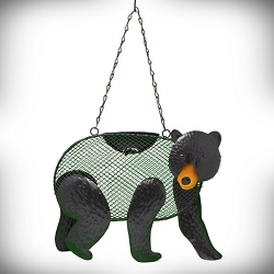 Black Bear Mesh Bird Feeder