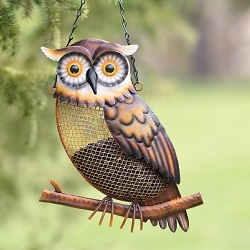 Owl Mesh Bird Feeder