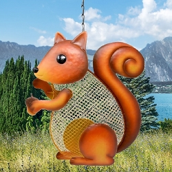 Squirrel Mesh Bird Feeder