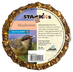 Stack'M Seed Cake Mealworm with Corn 6/Pack