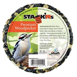 Stack'M Seed Cake Woodpecker 6/Pack