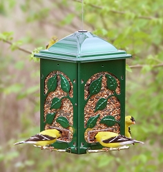 Classic Summer's Leaves Bird Feeder