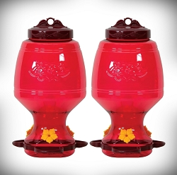 Homestead Top-Fill 32 oz. Hummingbird Feeder Set of 2