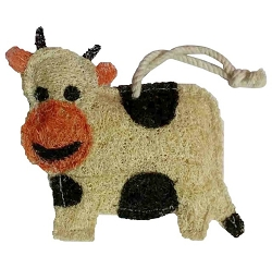 Loofah Natural Scrubber Cow