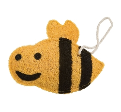 Loofah Natural Scrubber Bumble Bee