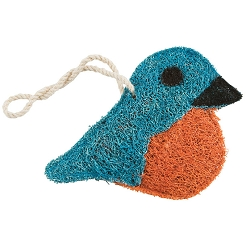 Loofah Natural Scrubber Bluebird