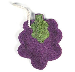 Loofah Natural Scrubber Grape Cluster