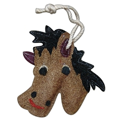 Loofah Natural Scrubber Horse