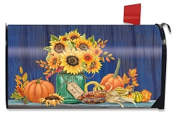 Briarwood Lane Fall Mason Jar Mailbox Cover