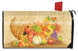 Briarwood Lane Fall Bounty Mailbox Cover