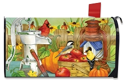 Briarwood Lane Autumn Display Mailbox Cover