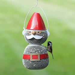NO/NO Mesh Gnome Bird Feeder