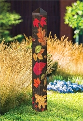 40 Inch Art Pole 4x4 Autumn Symphony