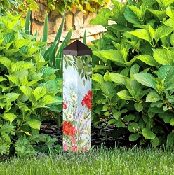 20 Inch Art Pole 4x4 Summer Garden