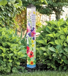 40 Inch Art Pole 4x4 Garden Memories