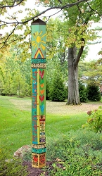6 ft. Art Pole 5x5 Kindness Matters