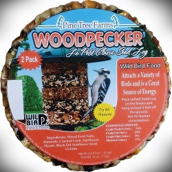 Le Petit Woodpecker Seed Log Stacker Cake 6/Pack