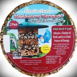 Le Petit Mealworm Banquet Seed Log Stacker Cake 6/Pack