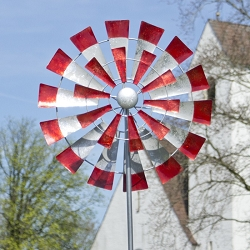 Windmill Kinetic Stake Garden Spinner