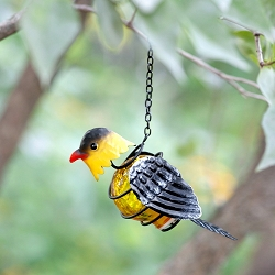 Solar Bird Lantern Goldfinch