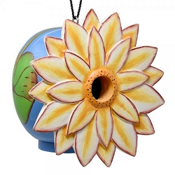 Lotus Flower Gord-O Birdhouse