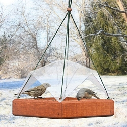 Hanging Tray Bird Feeder Cover 12