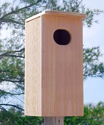 Looker Cedar Wood Duck House