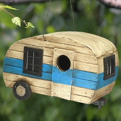 Retro Camper Bird House