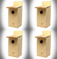 Town & Country Economy Bluebird House 4/Pack
