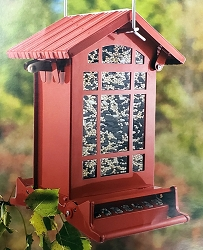 Chateau Squirrel Resistant Seed Feeder