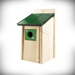 Lake & Cabin Bluebird House w/Green Roof