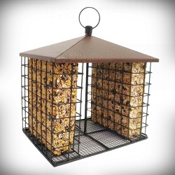 Fly-Through Seed Bar Feeder