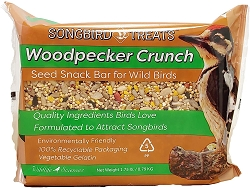Songbird Treats Woodpecker Crunch Seed Bar 1.75 lb. 4/Pack