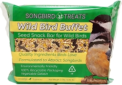 Songbird Treats Wild Bird Buffet Seed Bar 2 lb. 4/Pack