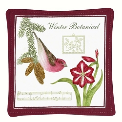 Purple Finch Spiced Mug Mat Set of 4