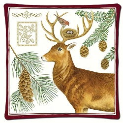 Holiday Deer Scented Hot Pad