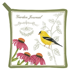 Goldfinch Potholder
