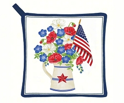 Old Glory Potholder