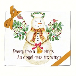 Snow Angel Flour Sack Towel Set of 2