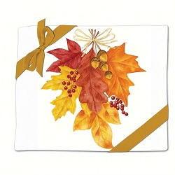 Autumn Leaves Flour Sack Towel Set of 2