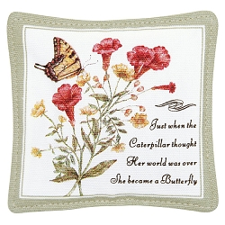 Yellow Swallowtail Spiced Mug Mat Set of 4