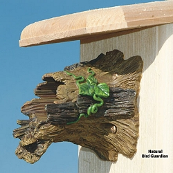 Natural Bird Guardian Bird House Protector Set of 2
