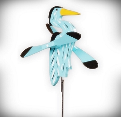 Whirly Bird Heron Spinner