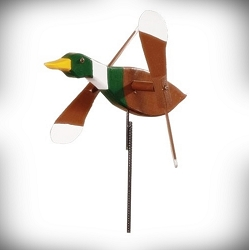 Whirly Bird Mallard Duck Spinner