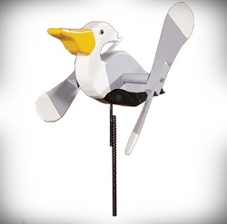 Whirly Bird Pelican Spinner