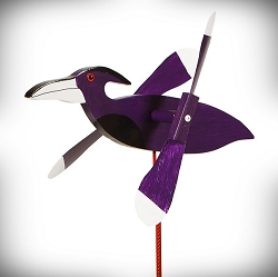 Whirly Bird Raven Spinner